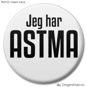 Bilde av  Button: Jeg har ASTMA (velg farge)
