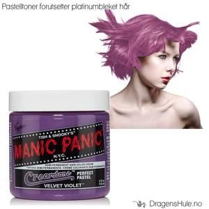 Bilde av  Hårtoner: Velvet Violet Creamtone -Manic Panic