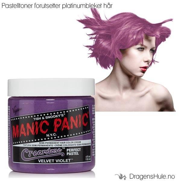 Hårtoner: Velvet Violet Creamtone -Manic Panic