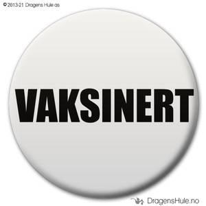 Bilde av  Button: Vaksinert (velg farge)