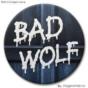 Bilde av  Button: Bad Wolf
